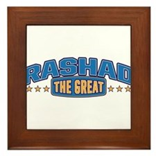 The Great Rashad Framed Tile