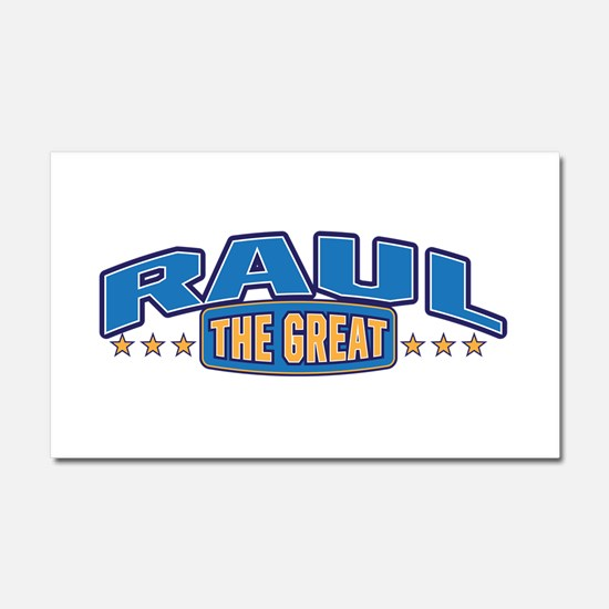 The Great Raul Car Magnet 20 x 12