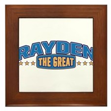 The Great Rayden Framed Tile