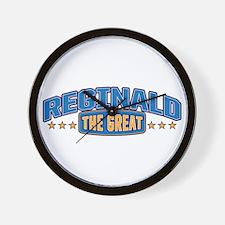 The Great Reginald Wall Clock