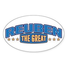 The Great Reuben Decal
