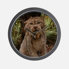 Canadian Lynx Wall Clock