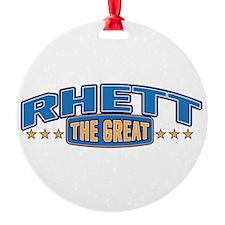 The Great Rhett Ornament