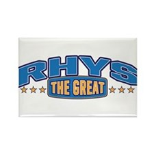 The Great Rhys Rectangle Magnet (100 pack)