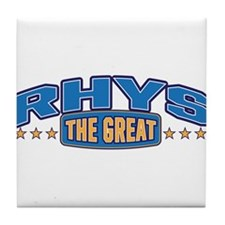The Great Rhys Tile Coaster