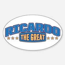 The Great Ricardo Decal