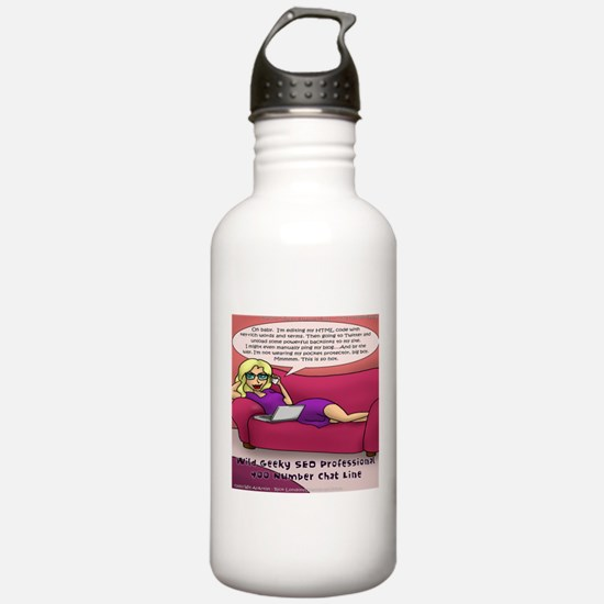 SEO 900 Phone Numbers Water Bottle