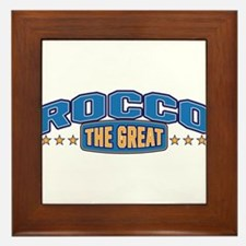 The Great Rocco Framed Tile
