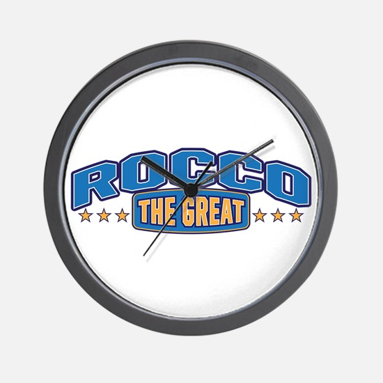 The Great Rocco Wall Clock