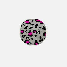 'Leopard Print' Mini Button