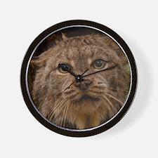 Canadian Lynx 2 Wall Clock