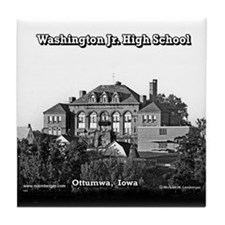 Washington Junior High School Tile Coaster