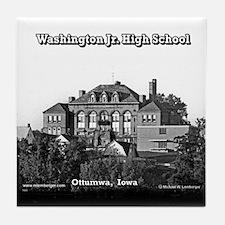 Washington Junior High School Tile Coaster