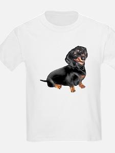 Black-Tan Dachshund T-Shirt