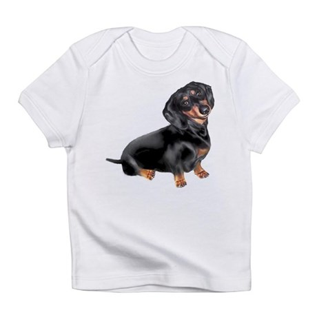 Black-Tan Dachshund Infant T-Shirt