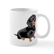 Black-Tan Dachshund Small Mug