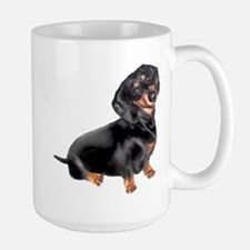 Black-Tan Dachshund Mug