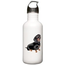 Black-Tan Dachshund Water Bottle