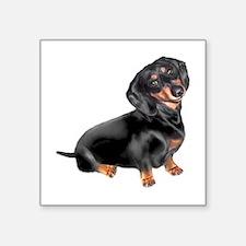 Black-Tan Dachshund Sticker