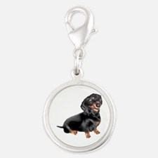 Black-Tan Dachshund Charms