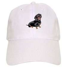 Black-Tan Dachshund Baseball Cap