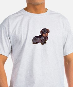 Wire Haired Dachshund (#1)q T-Shirt