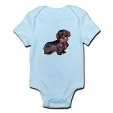 Wire Haired Dachshund (#1)q Infant Bodysuit