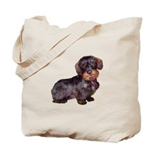 Wire Haired Dachshund (#1)q Tote Bag