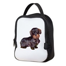 Wire Haired Dachshund (#1)q Neoprene Lunch Bag