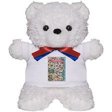wisconsin map Teddy Bear