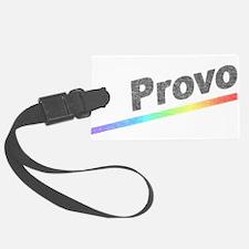 Vintage Provo Rainbow Luggage Tag