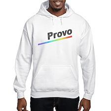 Vintage Provo Rainbow Hoodie