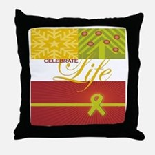 Celebrate Life Holiday Collection Throw Pillow