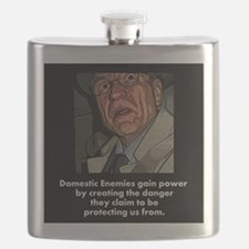 Domestic Enemies Flask
