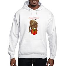 bullmastiff holiday design Jumper Hoody