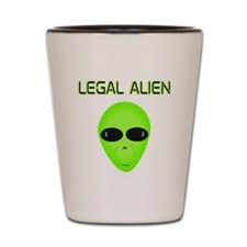 Legal Aliend Shot Glass