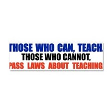 Cute Support law student Car Magnet 10 x 3