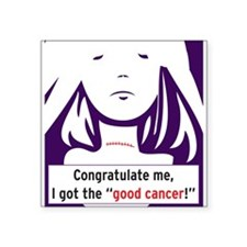 the good cancer woman Sticker
