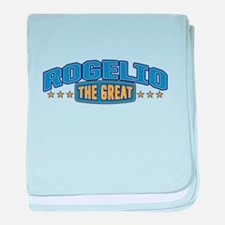 The Great Rogelio baby blanket