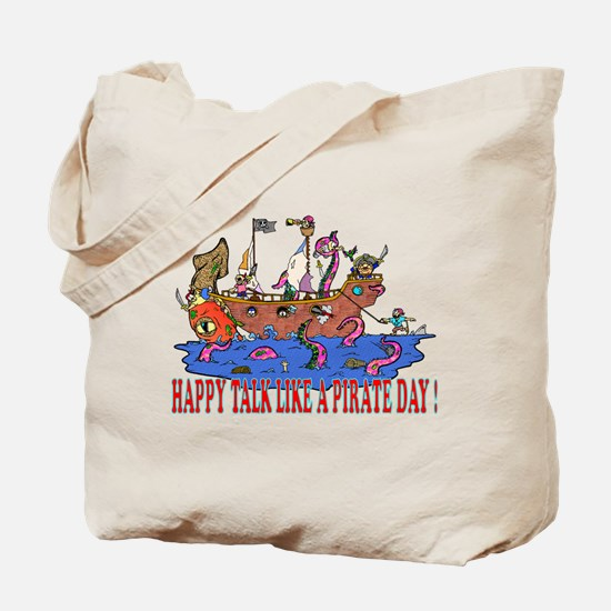 Happy Talk like A Pirate Day Tote Bag