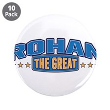 """The Great Rohan 3.5"""" Button (10 pack)"""