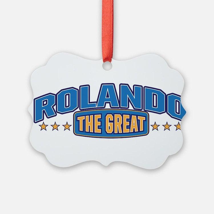 The Great Rolando Ornament