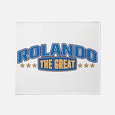 The Great Rolando Throw Blanket