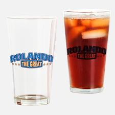 The Great Rolando Drinking Glass