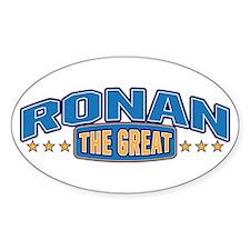 The Great Ronan Decal