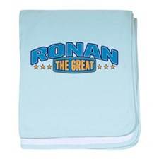 The Great Ronan baby blanket
