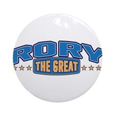 The Great Rory Ornament (Round)