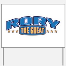 The Great Rory Yard Sign