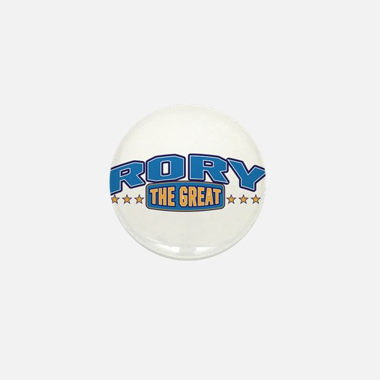 The Great Rory Mini Button