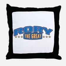 The Great Rory Throw Pillow